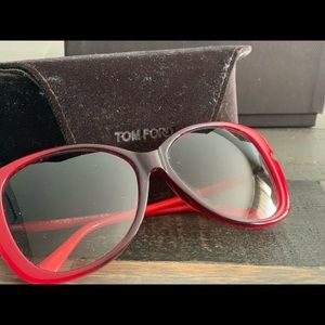 Tom Ford Red Sunglasses